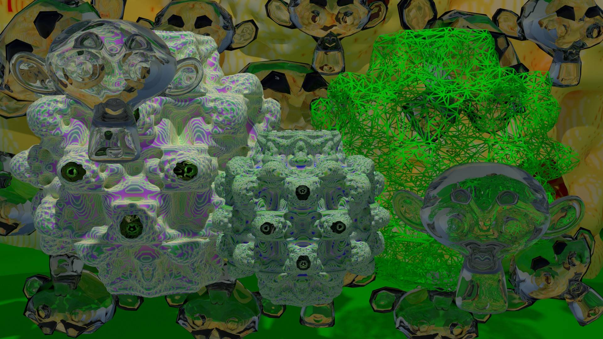 Export Meshes from Mandelbulber